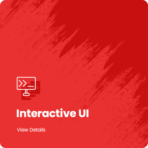 intractive UI